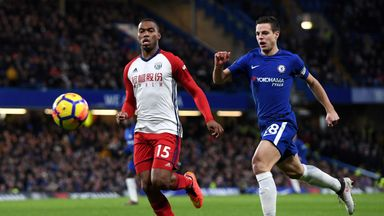 fifa live scores - Daniel Sturridge injured after three minutes of Chelsea return with West Brom