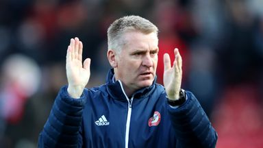 Dean Smith's side are now five points off the Championship play-offs