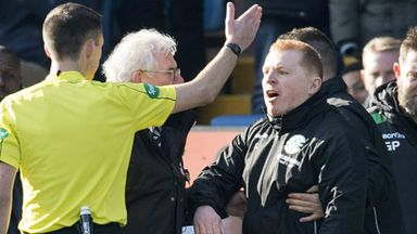 Neil Lennon vents his frustrations in the 2-2 draw with Kilmarnock