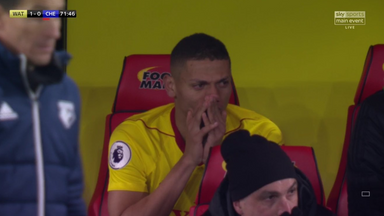fifa live scores - WATCH: Richarlison in tears on bench during Watford's win over Chelsea