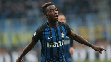 Yann Karamoh marked his first Serie A start with a goal for Inter