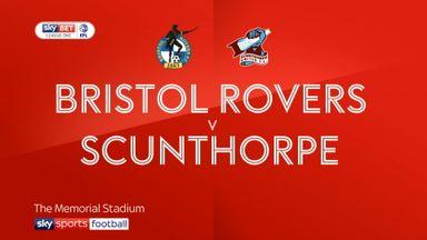 Bristol Rovers 1-1 Scunthorpe