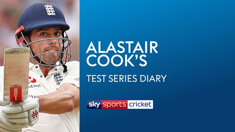 Alastair Cook's Test Series Diary