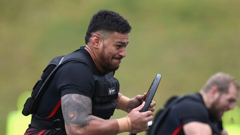 Nathan Hughes is back in the England XV following his recovery from a knee injury