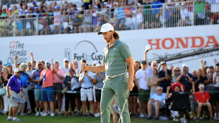 Tommy Fleetwood during the third round of the 2018 Honda Classic on The Champions Course at PGA National