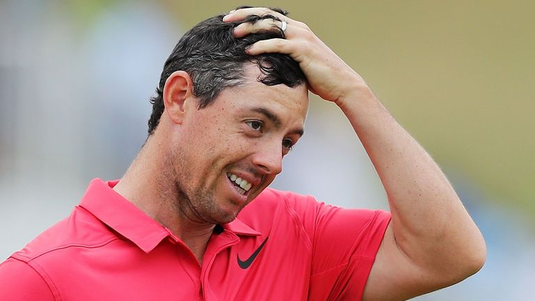 McIlroy can relax with three-shot PGA lead