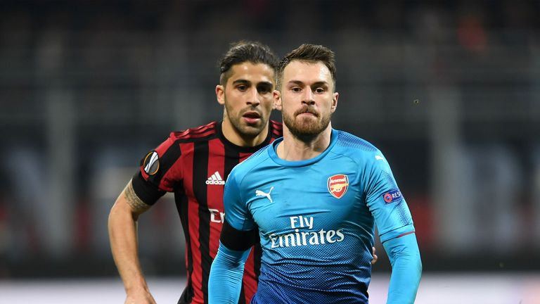 Aaron Ramsey says the club are determined to win the fans back
