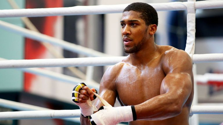 These belts are mine - Parker confident of Joshua victory