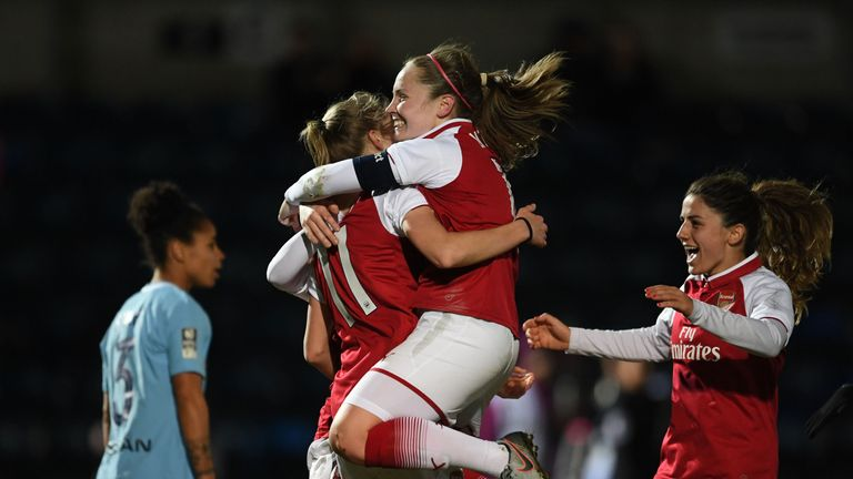 Vivianne Miedema struck the only goal of the game