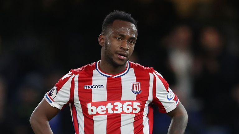 Saido Berahino has not scored since joining Stoke