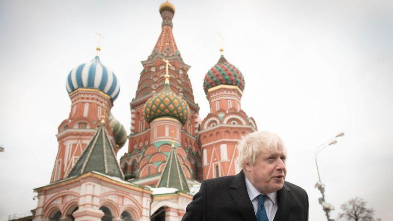 Britain blames Russia over ill spy Sergei Skripal