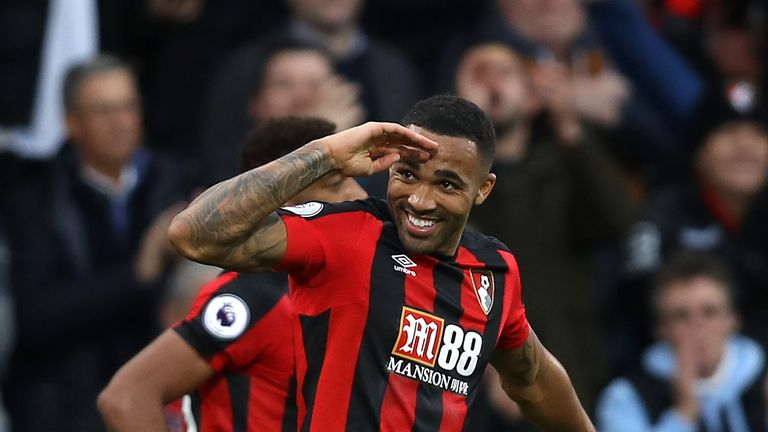 Callum Wilson is hoping to earn a call-up to the England squad