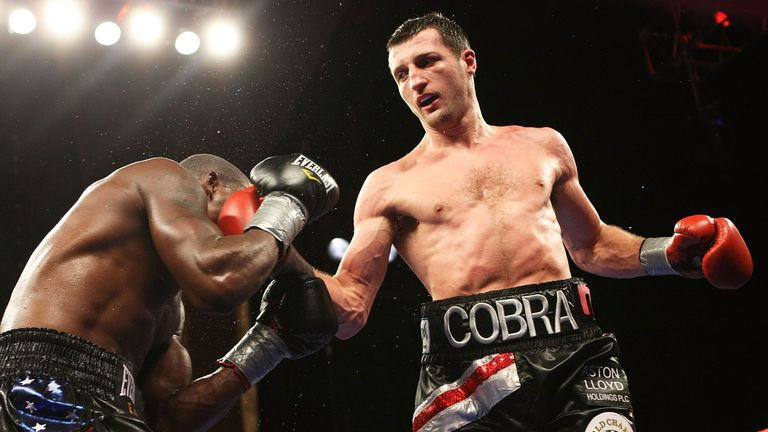 'The Cobra' retained the WBC belt after a stunning comeback