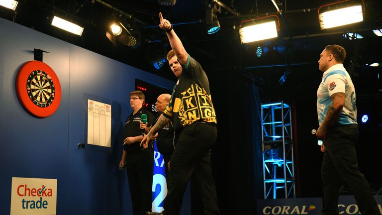 Corey Cadby enjoyed a memorable tournament, reaching his first major TV final