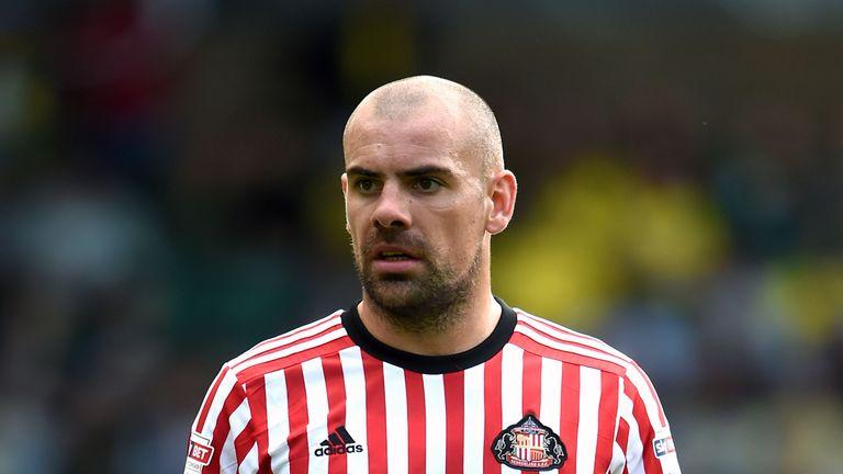 Darron Gibson left Sunderland in March