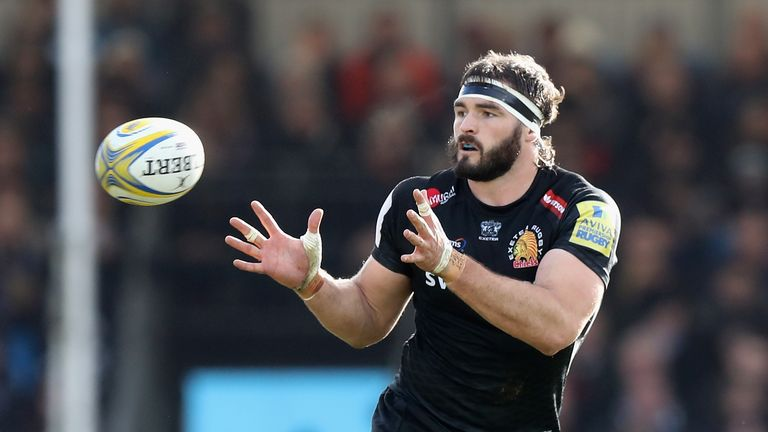 Exeter's Don Armand has been called into the England squad