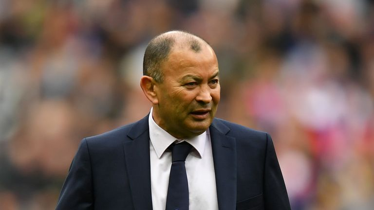 Eddie Jones says his young England side lack 'emotional control'