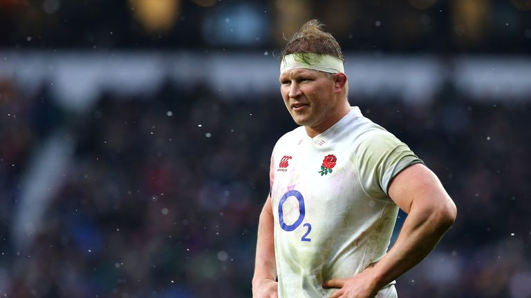 Dylan Hartley was injured in England's Six Nations match with Ireland