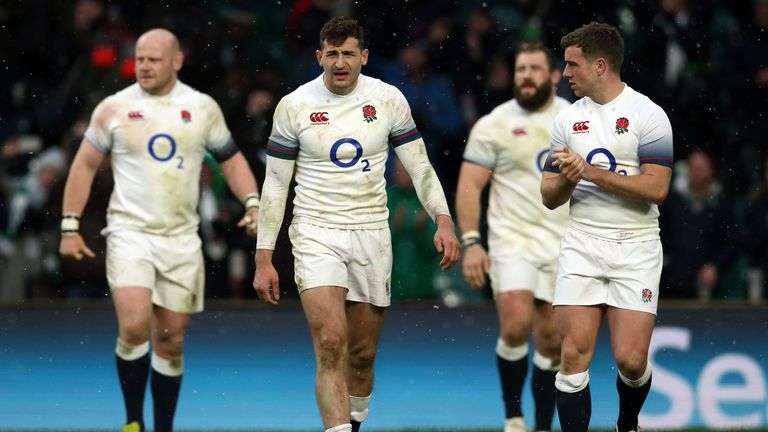 England suffered three straight defeats in the Six Nations - losing to Scotland, France and Ireland