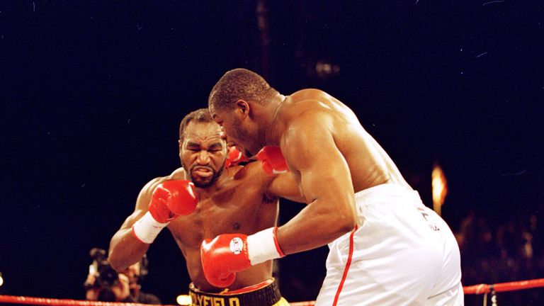 Evander Holyfield & Riddick Bowe fought three times