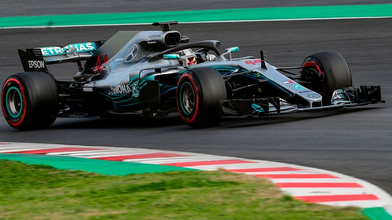 Ferrari fastest, Mercedes churns out miles as F1 tests end