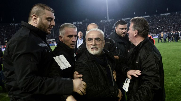Savvidis has apologised for his actions