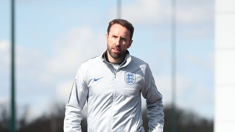 England manager Gareth Southgate named his World Cup squad on Wednesday