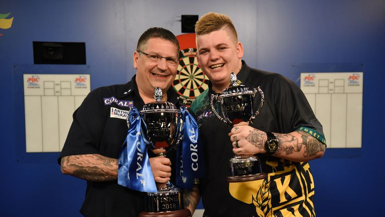 Anderson beat Corey Cadby to claim the title at Minehead