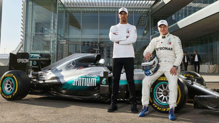 Lewis Hamilton and Valtteri Bottas unveil PETRONAS' new R&T centre