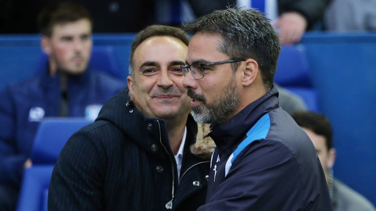 Carlos Carvahal and David Wagner meet again