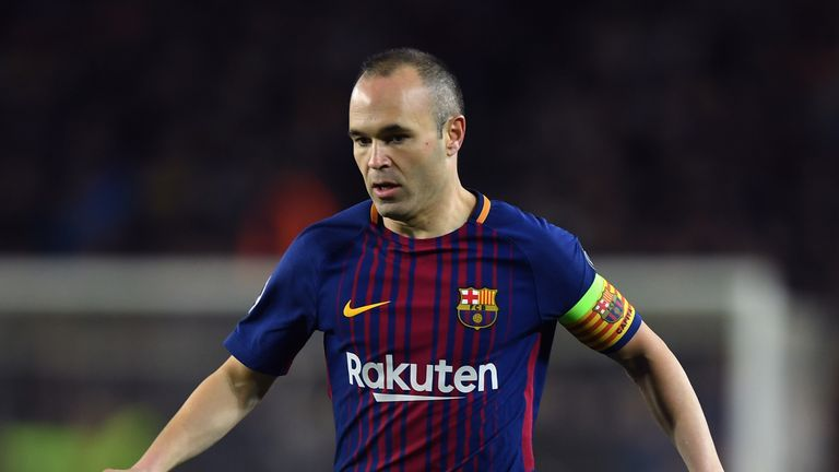Barcelona Believe Iniesta is China Bound