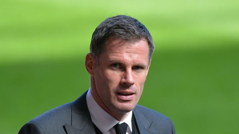 Pundit Jamie Carragher suspended by Sky Sports for rest of football season