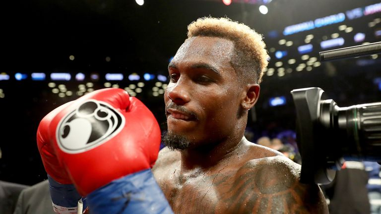 Jermall Charlo has moved up to middleweight in search of more belts