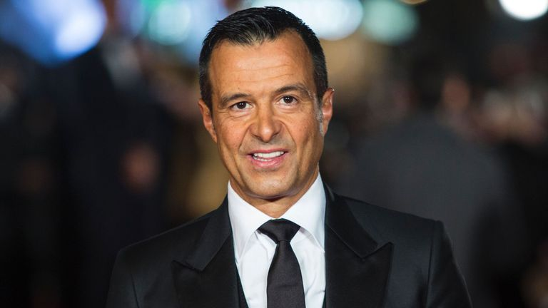 Jorge Mendes works closely with Fosun International, which owns and runs Wolves