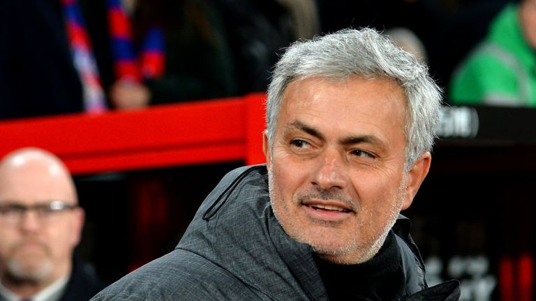 Jose Mourinho has played down Manchester United's chances of reaching the last eight