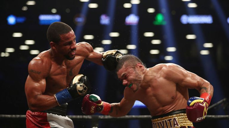 Dirrell showed his speed and experience at times