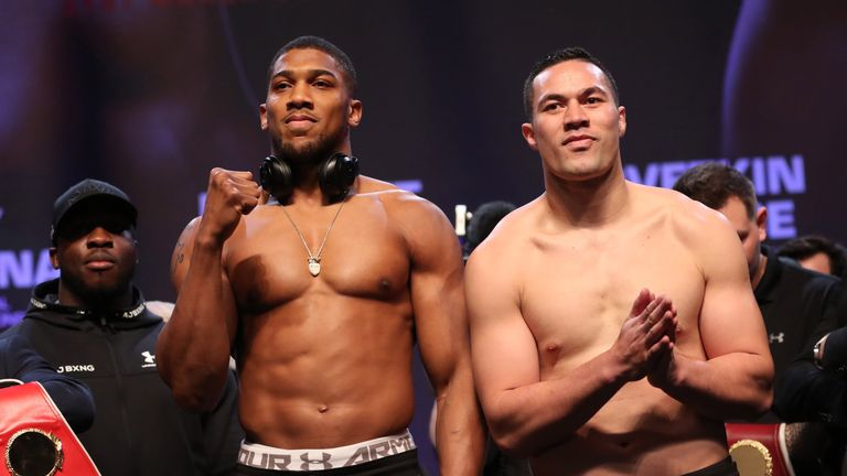 Watch Anthony Joshua vs Joseph Parker Heavyweight Championship Live Online