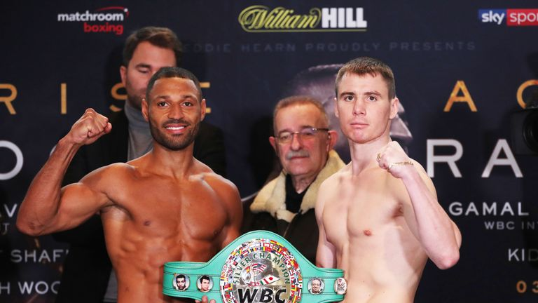 Kell Brook faces Sergey Rabchenko in his first fight at 154lbs