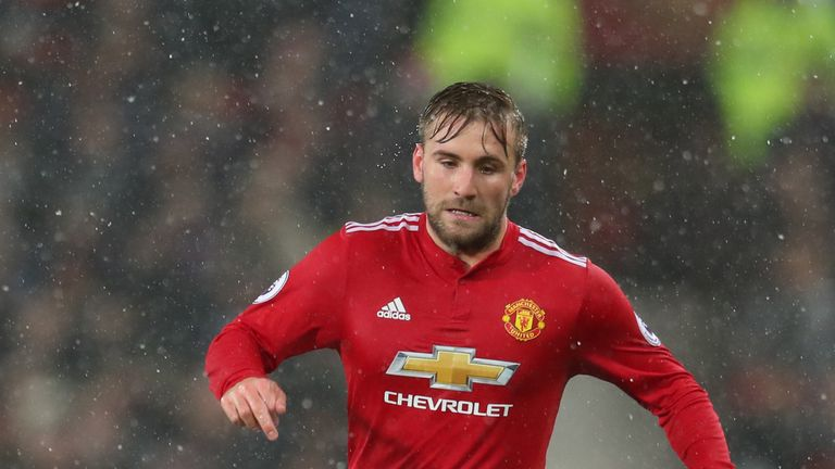 Luke Shaw's future at Old Trafford is unclear