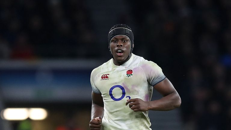 Maro Itoje has struggled to make an impact during the Six Nations
