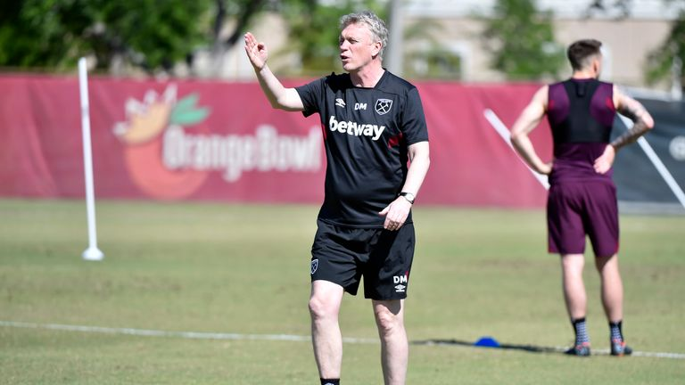 David Moyes called for fans to unite with the club on Saturday (courtesy of West Ham United Football Club)