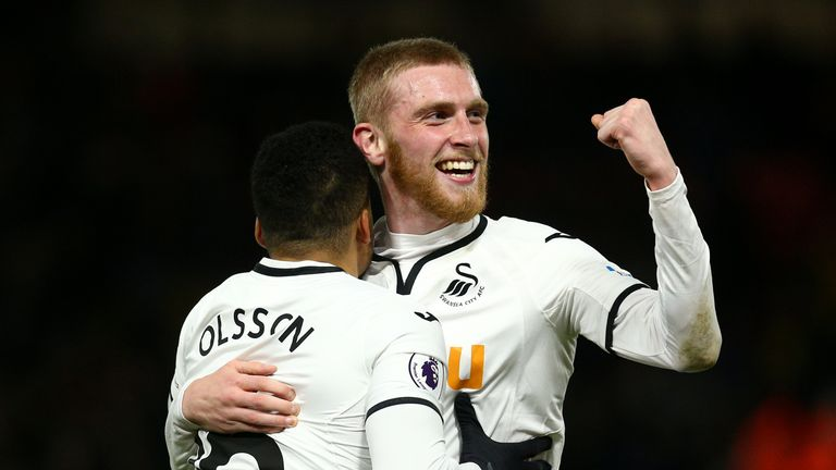 Oli McBurnie is seen as an excellent prospect by Swansea