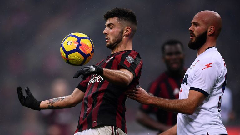 AC Milan youngster Patrick Cutrone has impressed under Gattuso
