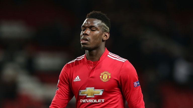 Paul Pogba failed to influence the game