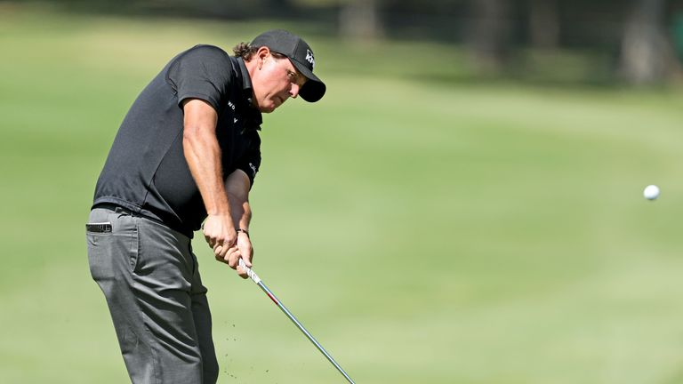 Phil Mickelson's confidence is high after his fine recent run