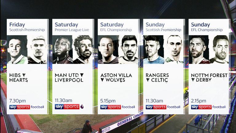 Sky Sports Rivalry Weekend