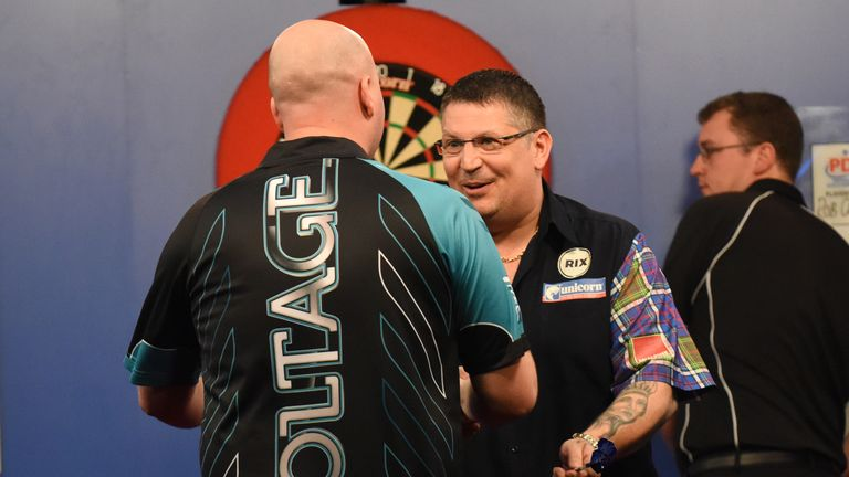 Anderson beat world champion Rob Cross on route to the title