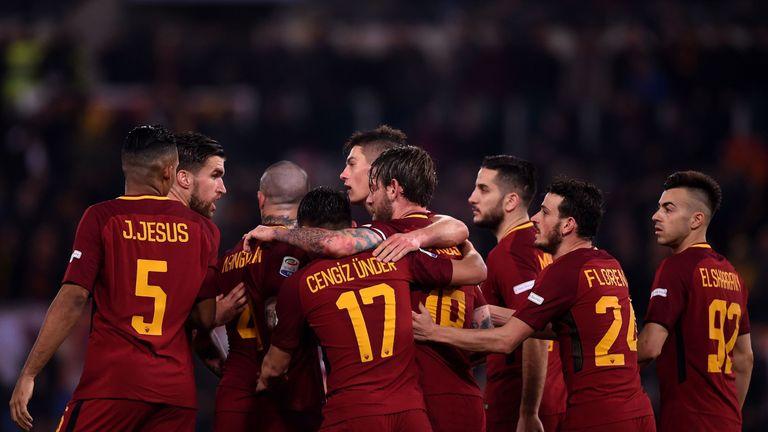 Roma face Liverpool in the Champions League semi-finals