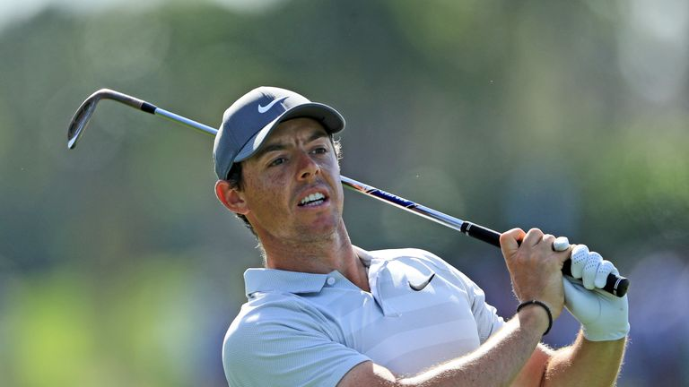 Tiger in the mix at Valspar, Spieth and McIlroy struggle