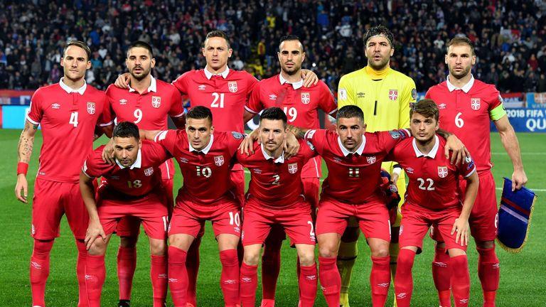 Image result for current Serbia national team